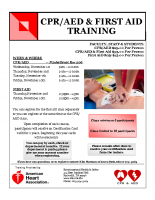 CPR-AED flyer November 2017